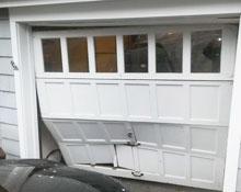 Garage door repair article